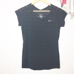 Nike athletic dri-fit t-shirt running biking small